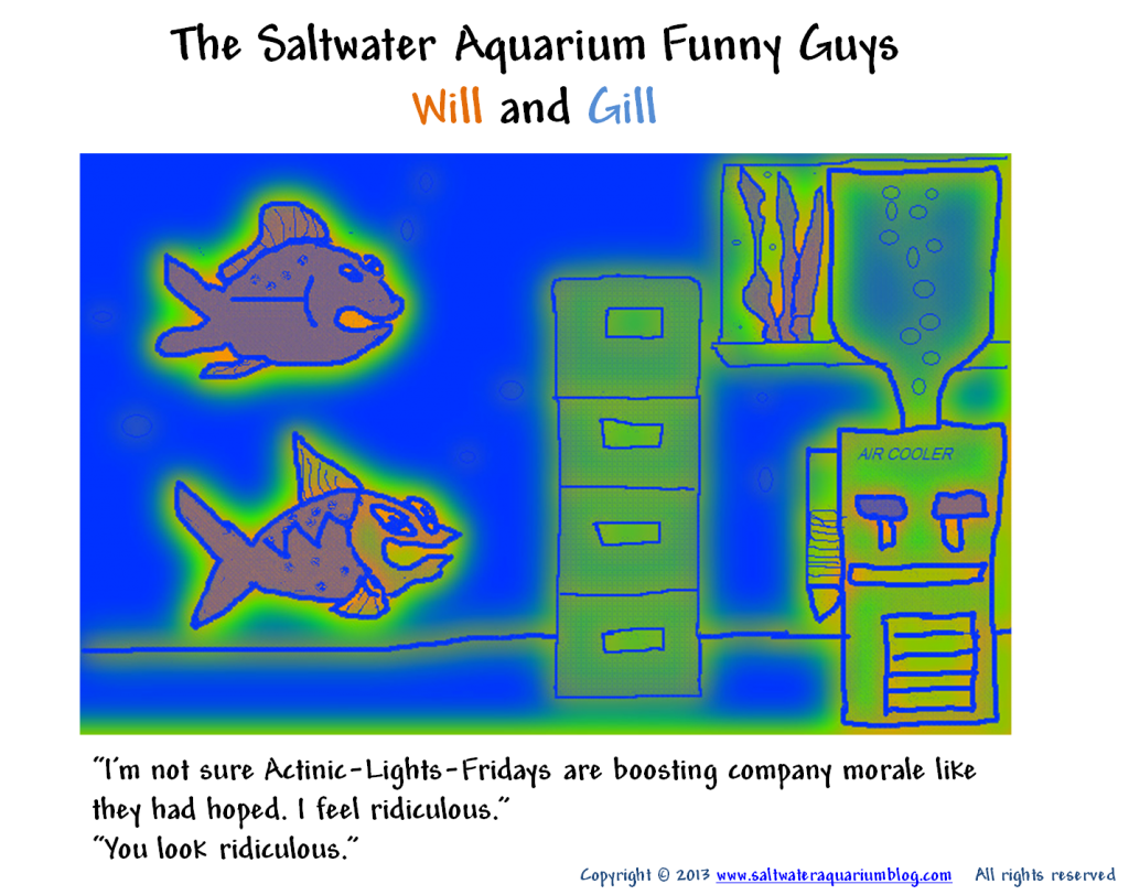 Another funny fish comic with will and gill