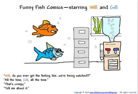 Funny fish comic starring will and gill
