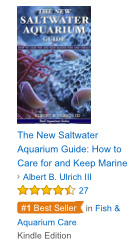 #1 Best Seller Label for The New Saltwater Aquarium Guide