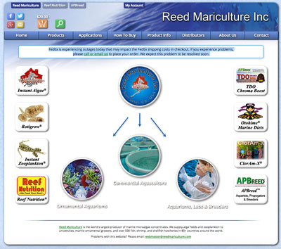 reed mariculture website