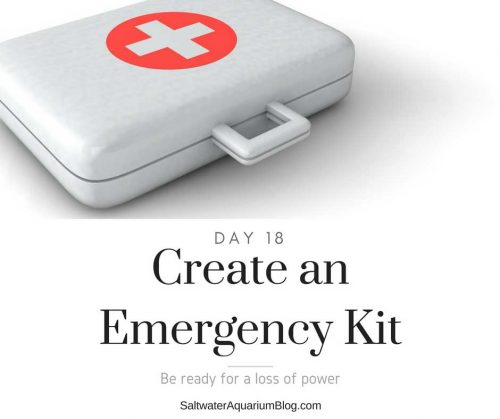 create an emergency kit