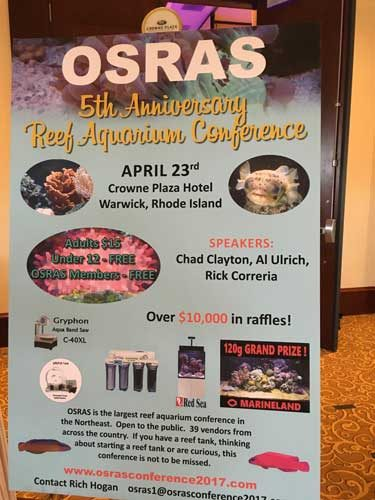 OSRAS reef aquarium conference poster